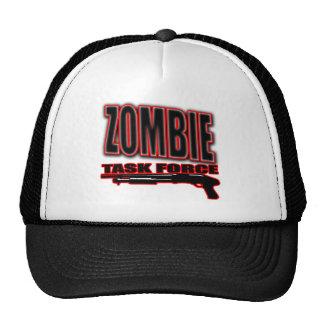 camisa divertida del zombi de los zombis de los un gorro de camionero