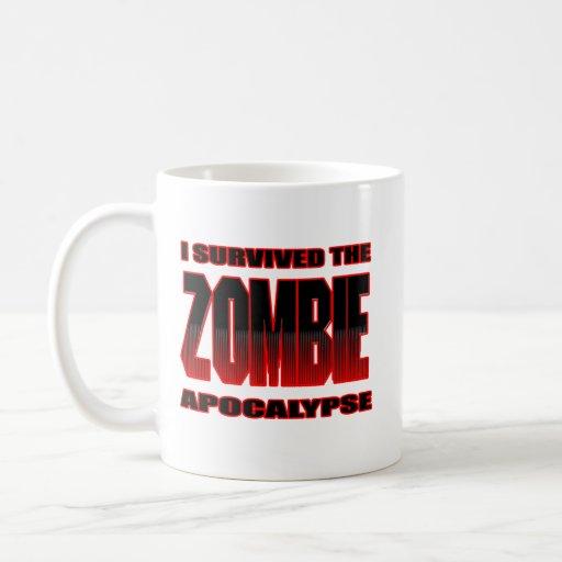 camisa divertida del zombi de los zombis de los un taza básica blanca