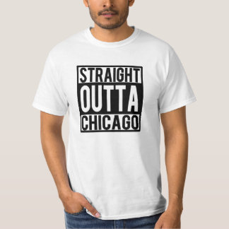 Camisa divertida recta de Outta Chicago
