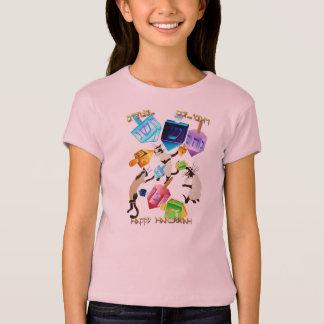 Camisa Dreidels-indicada con letras deliciosa