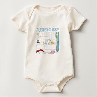 Camisa Ducky de goma del bebé