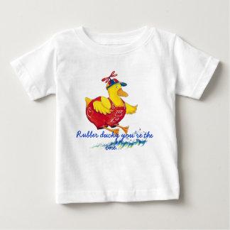 Camisa ducky de goma del niño