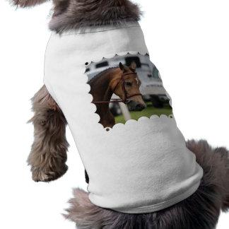 Camisa dulce del mascota del potro camiseta de perro