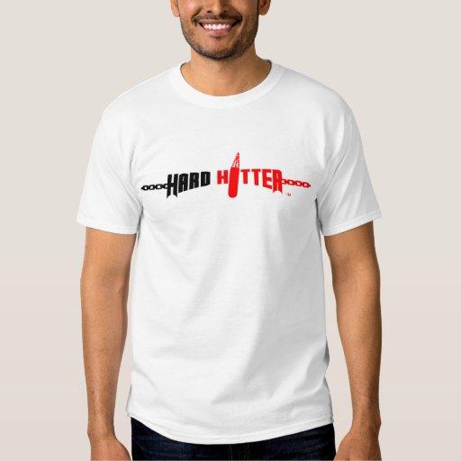 Camisa dura del músculo del logotipo del bateador