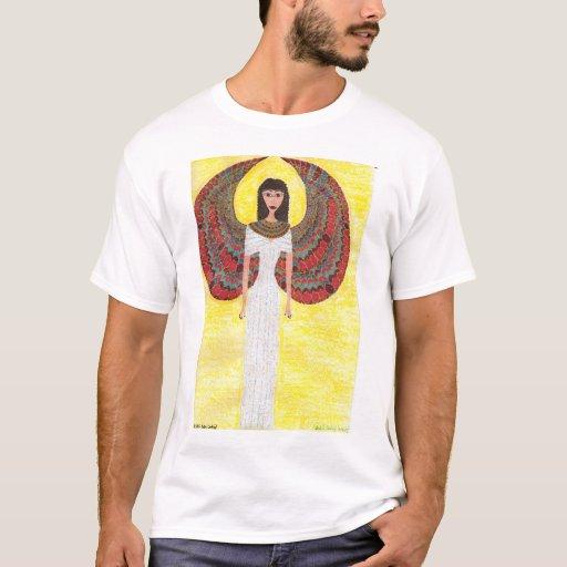 Camisa egipcia antigua del ángel