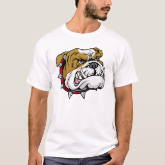 Camisa enojada del dogo