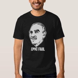 Camisa épica del fall de Keynes