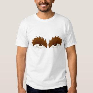Camisa espesa de las cejas