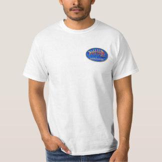 Camisa esquelética tribal para hombre de los