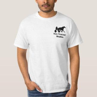 Camisa estable personalizada el competir con de ar