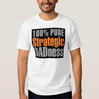 Camisa estratégica pura del papá del 100%
