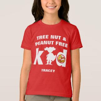 Camisa estupenda de la alarma de la alergia del