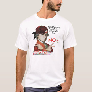 """Camisa europea del viaje de Mozart """"MES-z"""" (la luz"""
