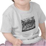Camisa extraña del niño de las criaturas