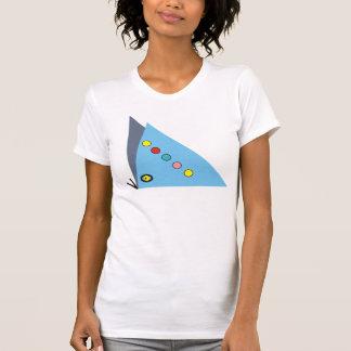 Camisa extranjera de la mariposa
