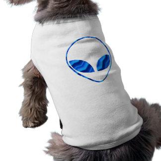 Camisa extranjera del perro de Roswell Playera Sin Mangas Para Perro