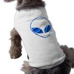 Camisa extranjera del perro de Roswell Camisetas De Mascota