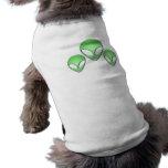 Camisa extranjera del perro del trío playera sin mangas para perro