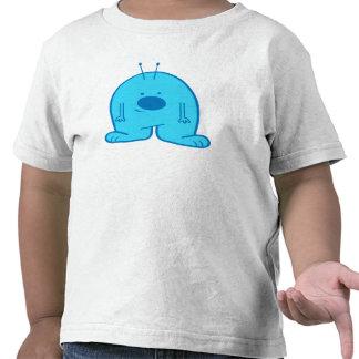 Camisa extranjera rechoncha azul
