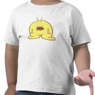 Camisa extranjera rechoncha del oro