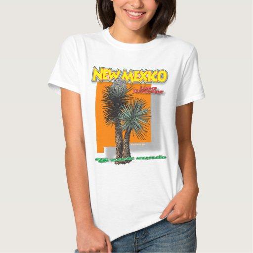 Camisa F/B de la yuca del bigmap de New México