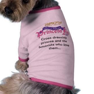 Camisa fabulosa del mascota de princesa Ida de los Camiseta Con Mangas Para Perro