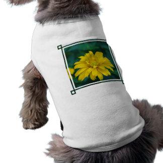 Camisa falsa magnífica del mascota del girasol camiseta de mascota
