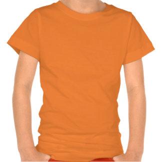 Camisa fantasmagórica de la cara de la calabaza de