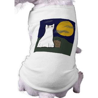 Camisa fantasmagórica del perro del gatito del tru camisetas mascota