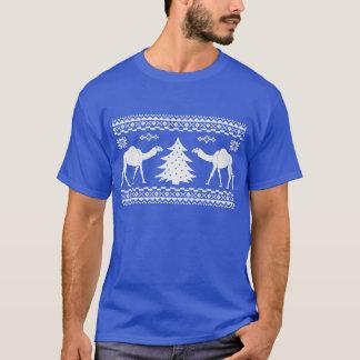 Camisa fea del suéter del día de chepa del camello