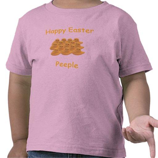 Camisa feliz de Pascua
