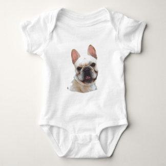Camisa feliz del bebé del dogo francés