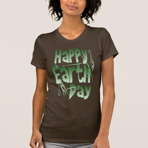Camisa feliz del Día de la Tierra