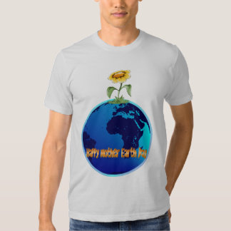 Camisa feliz del día de madre tierra