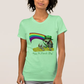Camisa feliz del día del St. Patricks del dogo