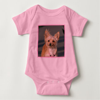 Camisa feliz del niño de la chihuahua