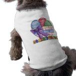 Camisa feliz del perro de la cesta de Pascua Ropa Perro