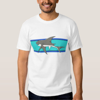 Camisa feliz del tiburón