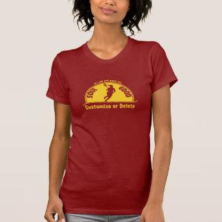 Camisa femenina de LaCrosse - alma buena