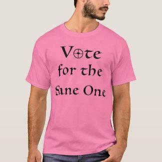 Camisa feminista de la unidad de la cordura del