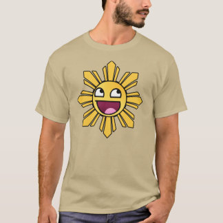 Camisa filipina impresionante