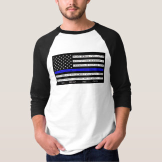 Camisa fina del compromiso de la bandera americana