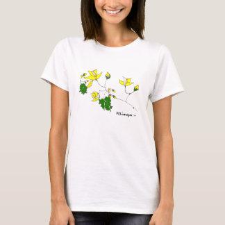 Camisa floral amarilla