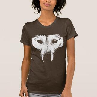 Camisa fornida del perro de la camiseta del arte d
