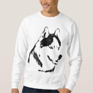 Camisa fornida del perro del lobo de la camiseta