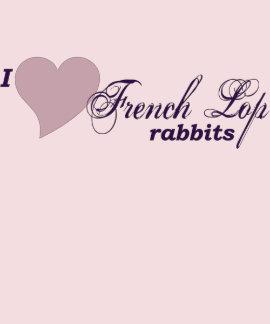 Camisa francesa de los conejos del Lop