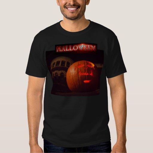 Camisa frecuentada de la linterna de Halloween