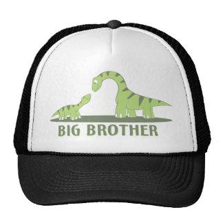 Camisa fresca de hermano mayor - tema del dinosaur gorros bordados