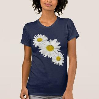 Camisa fresca de la margarita blanca