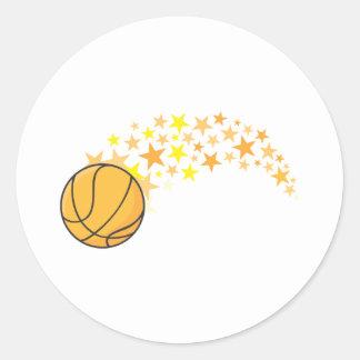 Camisa fresca del logotipo del icono de las pegatina redonda